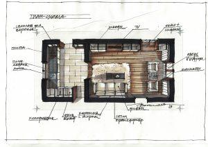 План-схема проекта помещения