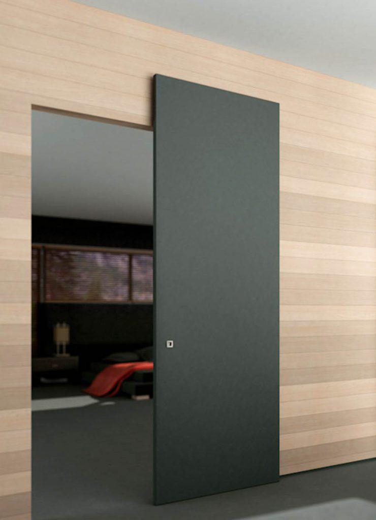 Одностворчатая раздвижная дверь Flat