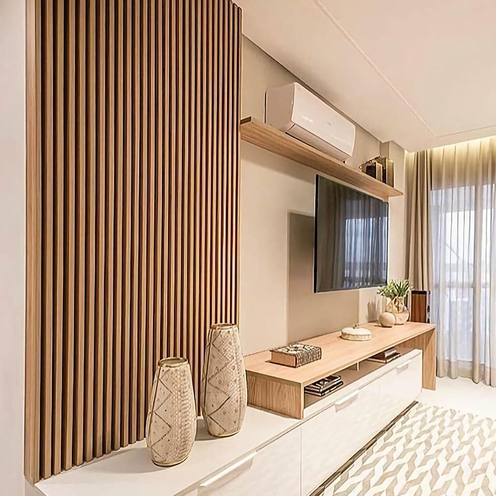 Стеновые панели из дерева и шпона Ясеня