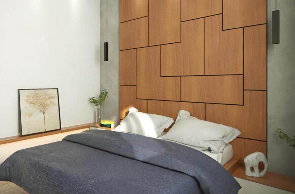 Стеновые панели в изголовье вашей кровати станут великолепным дополнением к интерьеру.