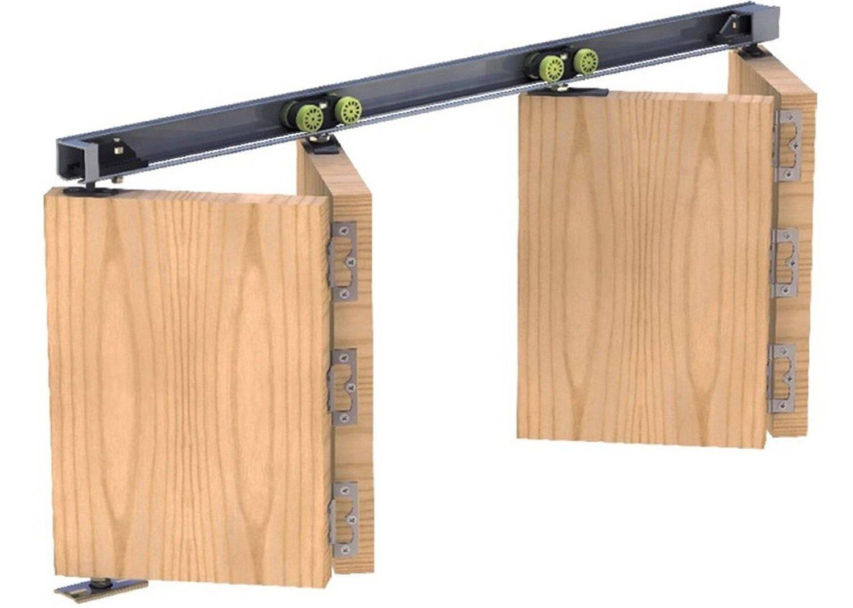 Складной механизм для раздвижных дверей.